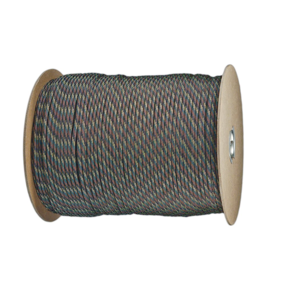 Paracord Planet Nylon 7 Type III Strand Inner Core Paracord - 100 Feet, Camo Pattern by PARACORD PLANET (Image #1)