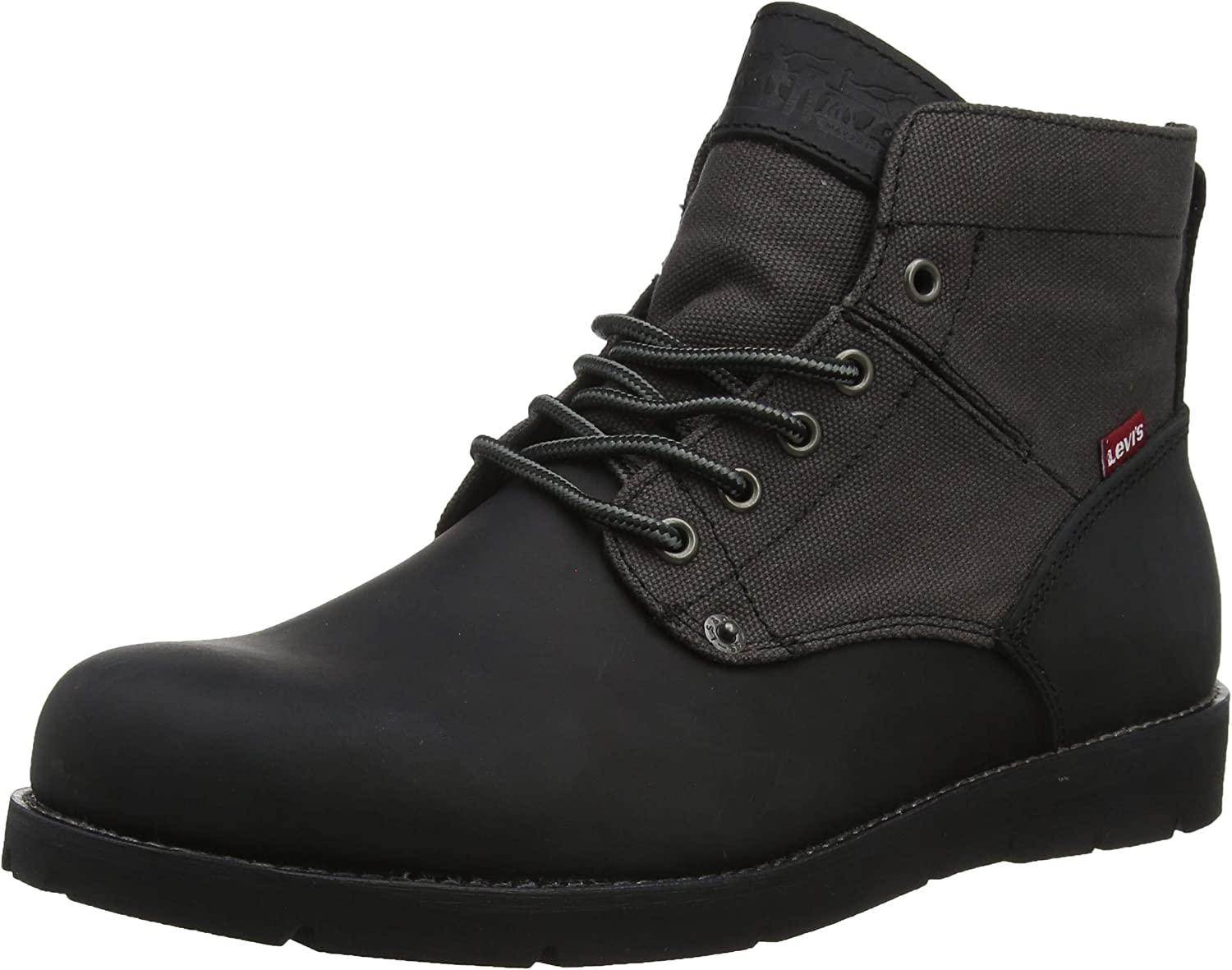 LEVIS FOOTWEAR AND ACCESSORIES Jax Botas Desert Hombre, Negro (B Black/Brown 60), 43 EU (9 UK)
