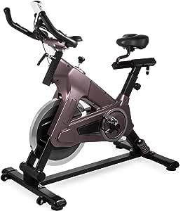 Bisujerro Bicicleta Estática de Spinning Volante 18 KG Bicicleta ...