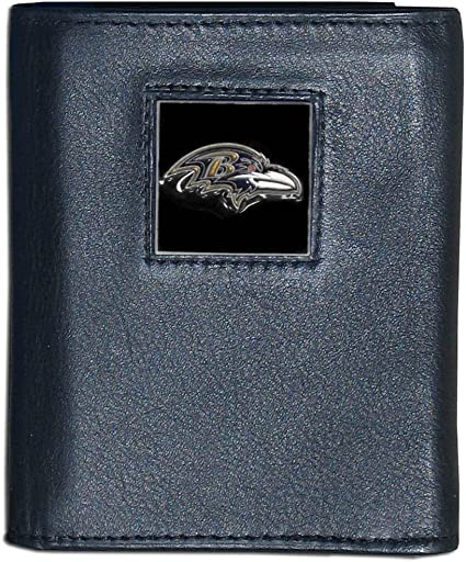 Black Siskiyou NFL Baltimore Ravens Bi-fold Wallet
