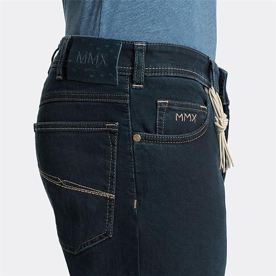 07753a9fd Meyer MMX Trousers - Fairtrade Denim - Blue Blue  Amazon.co.uk  Clothing