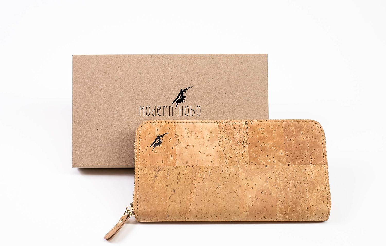 Amazon.com: Modern Hobo - Cartera de corcho para mujer, con ...