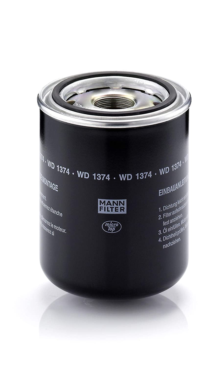 Mann Filter WD1374 Spin-On Hydraulic Filter