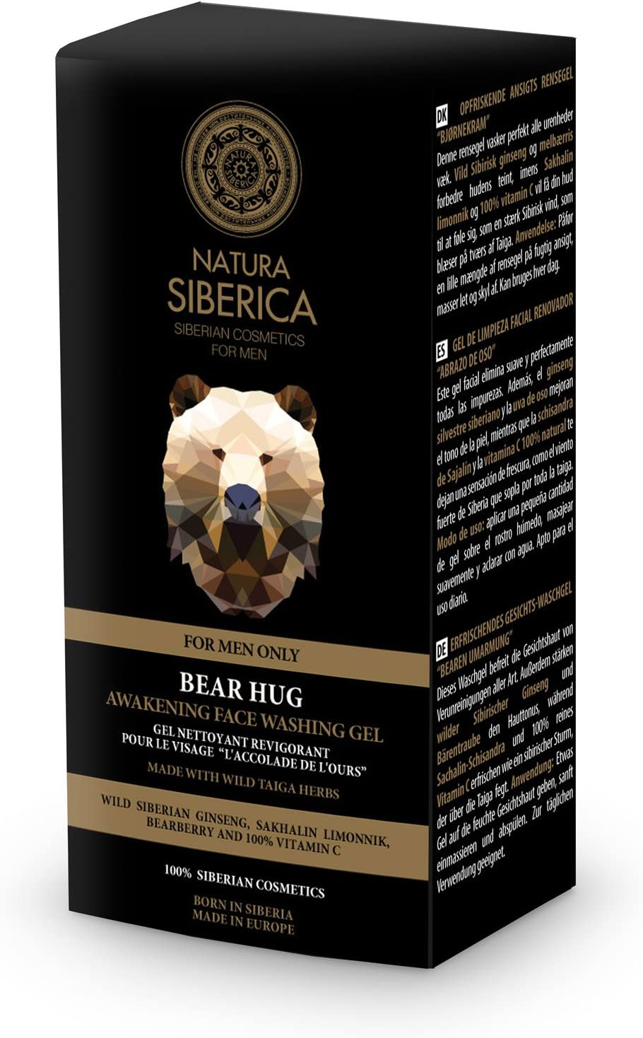 Natura Siberica Gel de Limpieza Facial Renovador Abrazo de Oso - 150 ml