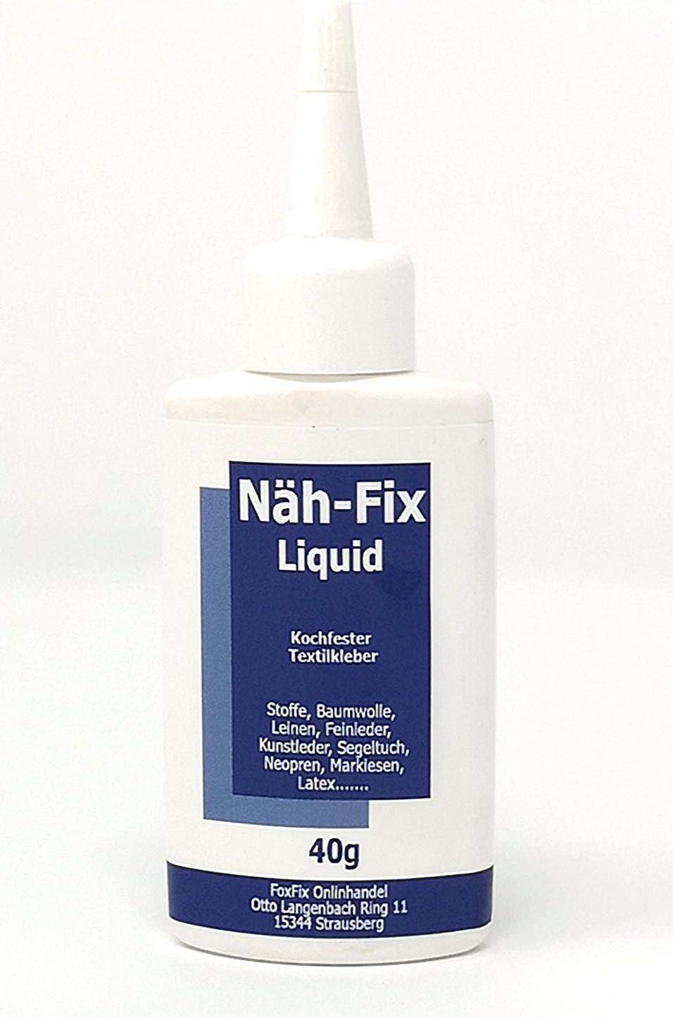 FoxFix textil adhesivo nähfix Liquid 500 g lavadora fijo ...