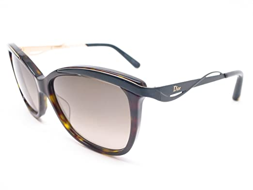 9ad7cb1b078 Image Unavailable. Image not available for. Colour  Christian Dior  MetalEyes2 Women s Havana Sunglasses 6NYHA