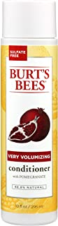 product image for Burt's Bees Pomegranate Seed Oil Very Volumizing Conditioner, Sulfate-Free Conditioner, 10 Oz (Package May Vary)