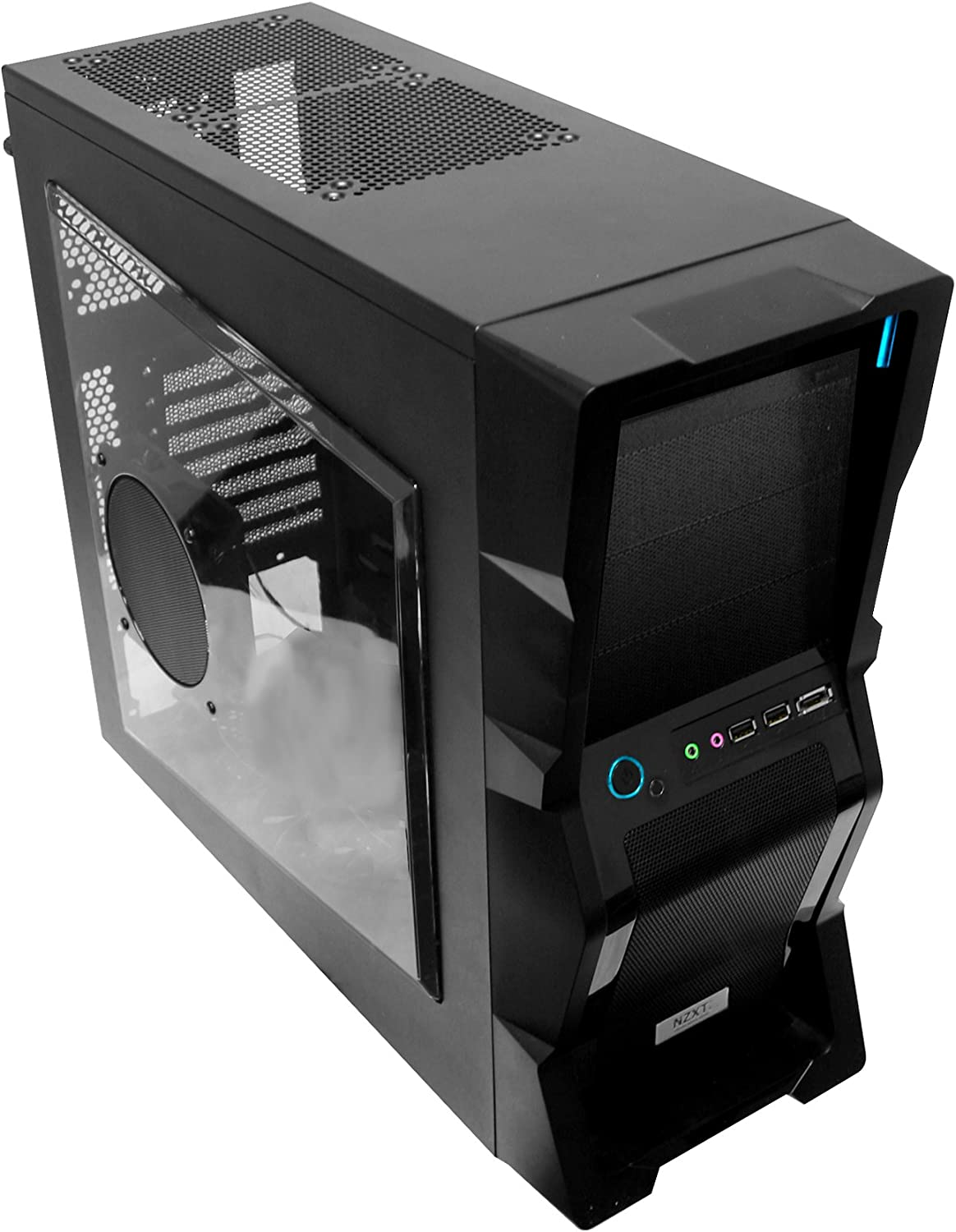 NZXT M59 Midi-Tower Negro 500 W - Caja de Ordenador (Midi-Tower, PC, Negro, ATX,Baby AT,Micro ATX, 500 W, 190 mm): Amazon.es: Informática