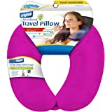Cloudz Microbead Travel Neck Pillow - Bright Pink