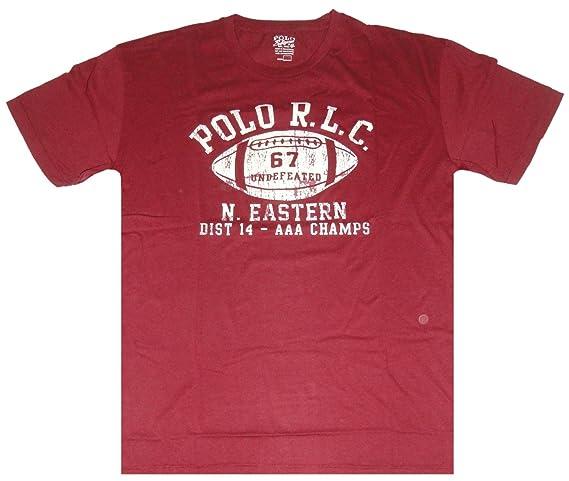 Polo Ralph Lauren Camiseta de fútbol de manga corta para hombre ...