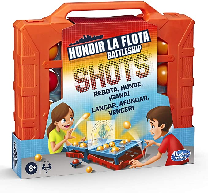 Hasbro Gaming- Hundir La Flota Shots (E8229175): Amazon.es ...