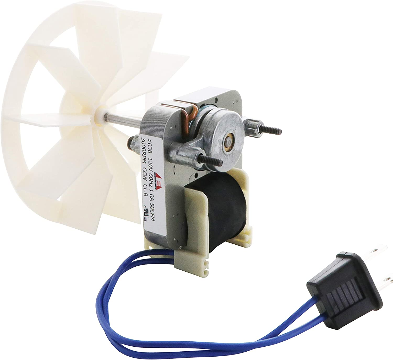 Endurance Pro Bathroom Vent Fan Motor and Blower Wheel Replacement Electric Motors Kit Compatible with Nutone Broan 50CFM 120V