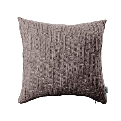 Amazon Sinogem Decorative Soft Handmade Knit Cushion Covers