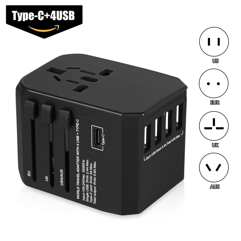 MIBOTE Universal Travel Adapter Power Converter