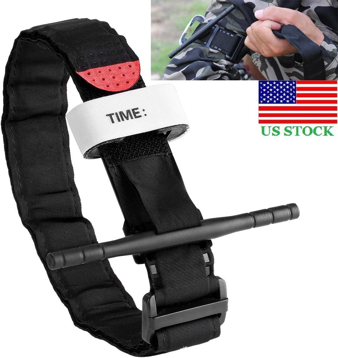 SUI-lim 2 Pack Tourniquets Tactical Tourniquet Outdoor Home Portable First Aid Kit Tourniquet Quick Slow Release Buckle Emergency Tourniquet Strap For Military Outdoor Sports