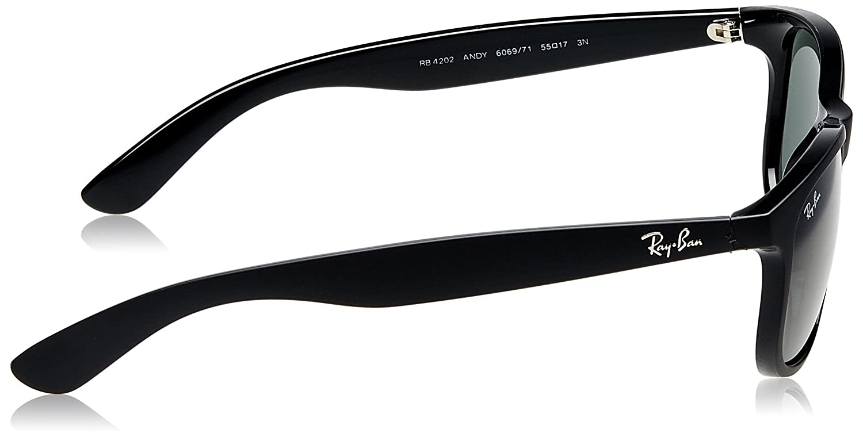 cc11dfd867 Amazon.com  Ray-Ban Andy RB4202 606971 Non-Polarized Sunglasses ...