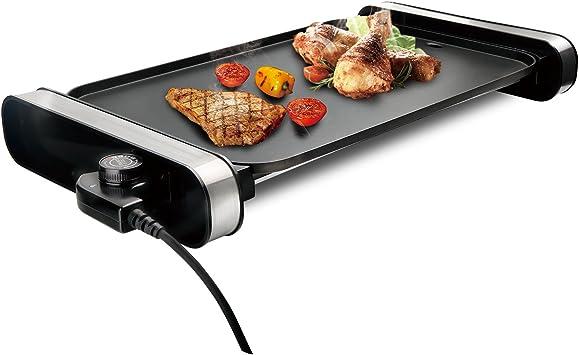 Griglia Elettrica Da Tavolo Pressofusione Di Alluminio E Controllo Temperatura Rimovibile Barbecue Domestico Gd 4530 Amazon It Casa E Cucina