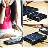 Amazon.com: XOX KS108 USB independent tarjeta de sonido ...