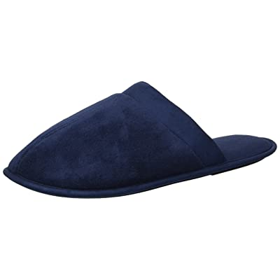 Dearfoams Men's Microfiber Terry Closed Toe Sc Slipper | Shoes