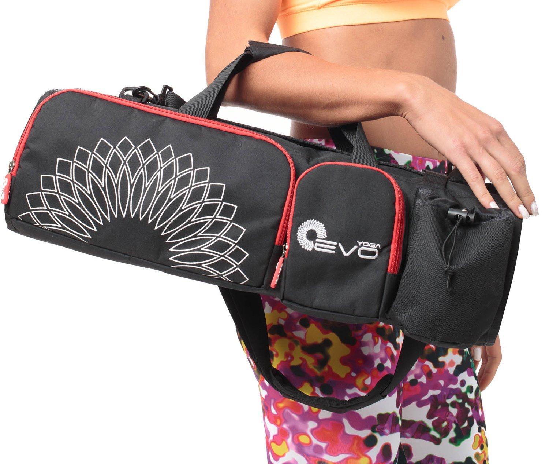 BlackRed Yoga Mat Bag