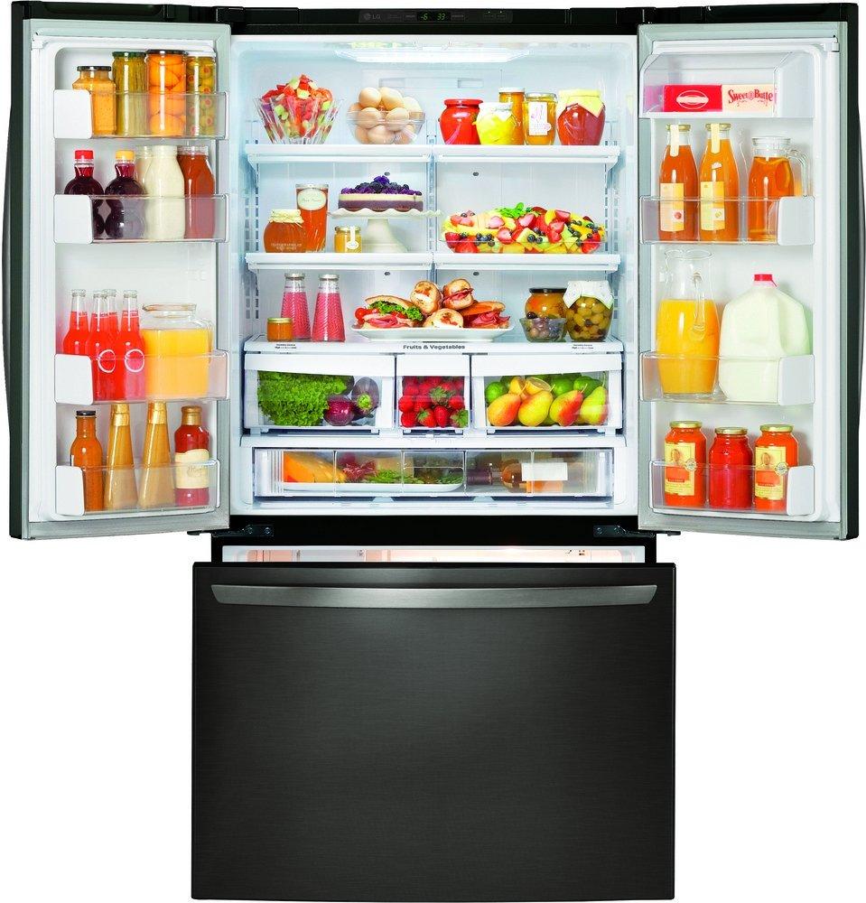 Amazon Lg Lfc21776d 36 Counter Depth French Door Refrigerator