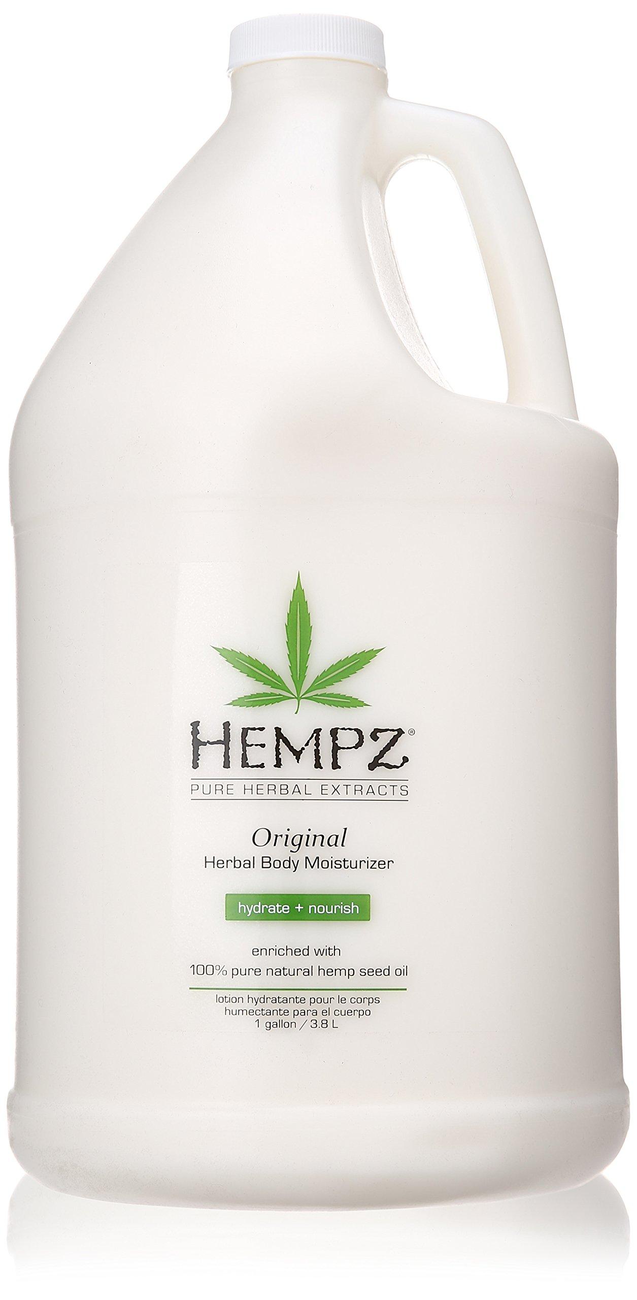 Hempz Moisturizer Lotion Gallon, 128 Ounce by Hempz