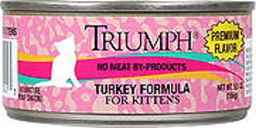 Triumph Turkey Canned Kitten Food, Case Of 24, 3 Oz.
