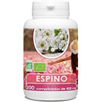Espino Blanco Orgánico 400mg - 200 comprimidos