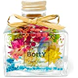彩る可愛いお花たち‼ 人気のBottYハーバリウム‼ ショートスクエア瓶150ml1本(ショートスクエア・オーシャンフラワー)