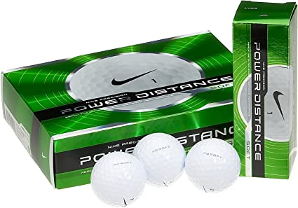 cera Lubricar virtud  Amazon.com : Nike Power Distance Soft Golf Balls (12-Pack) : Sports &  Outdoors