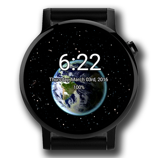 animated-earth-watch-face