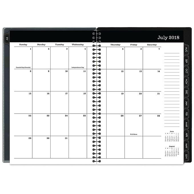 Amazon.com: Mead escolar semanal/Planificador Mensual, Julio ...