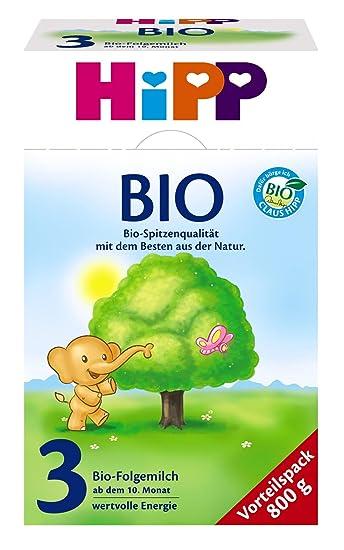HiPP 3 Orgánica leche de continuación, el paquete de 4 (4 x 800g)