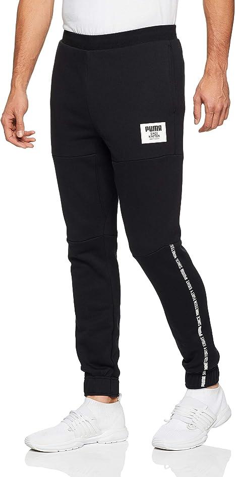 PUMA Rebel Block FL Cl Pants, Hombre: Amazon.es: Ropa y accesorios