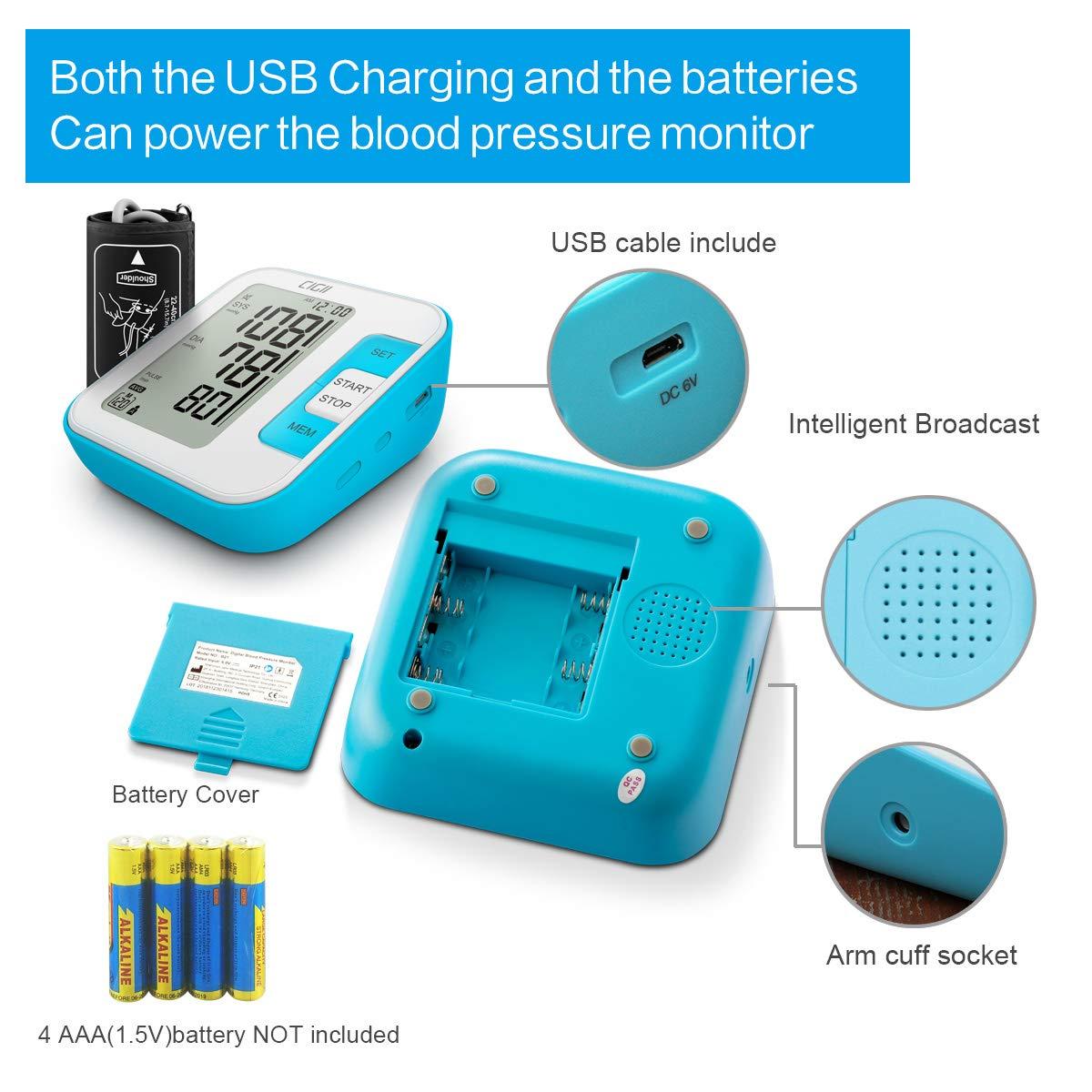 Amazon.com: Monitor de presión arterial por CIGII: Máquina ...