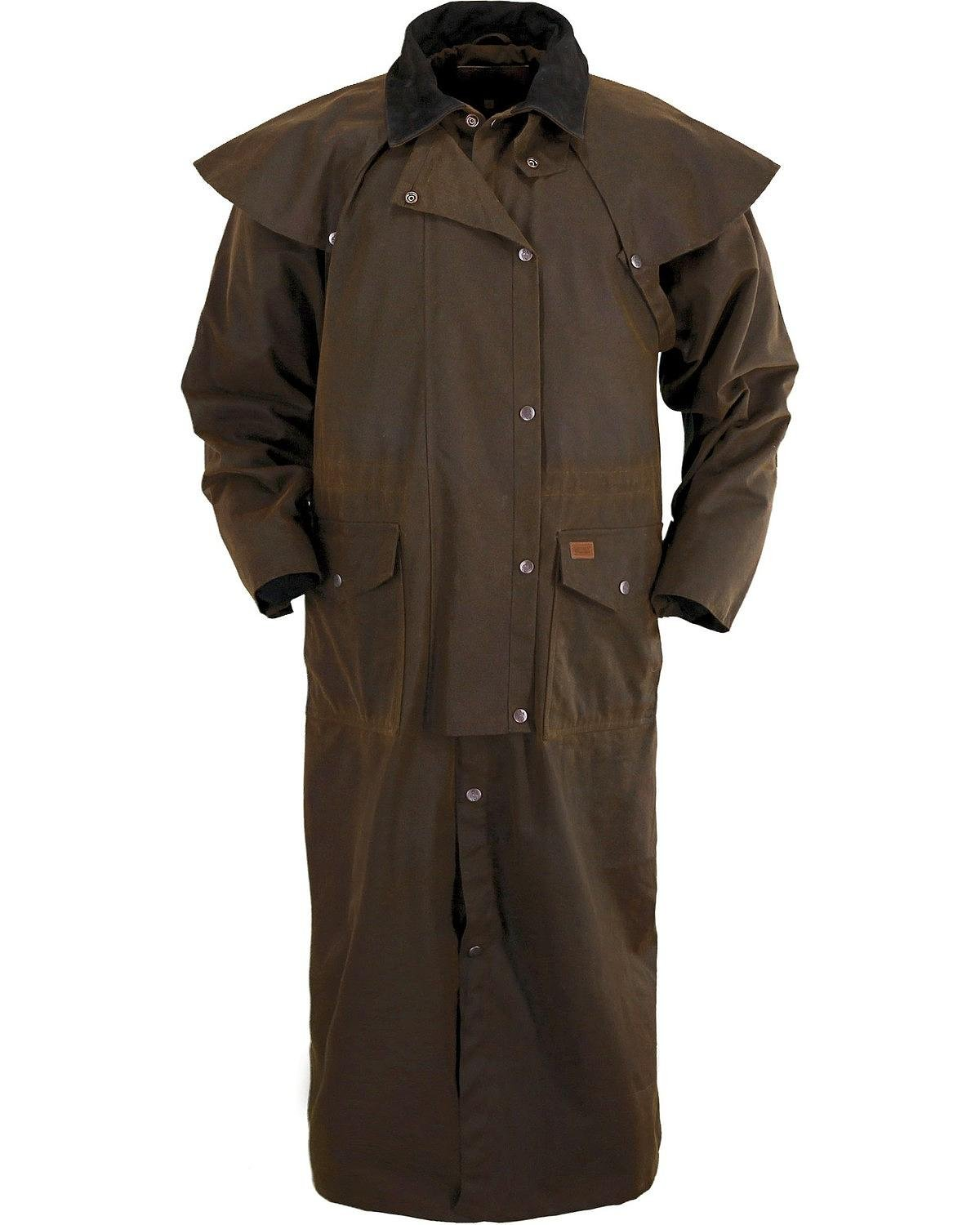 Outback Trading Stockman Duster S Bronze
