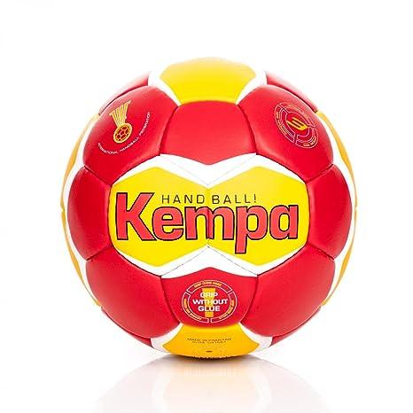 Kempa Toneo Omni Profile - Balón de Balonmano, Color Rot/Gelb ...