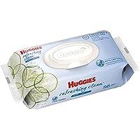 HUGGGIES - Toallitas de bebé, hipoalergénicas, 2 paquetes de recambio, 1