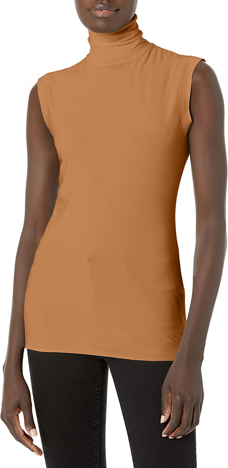 Norma Cheap mail order specialty store Kamali Women's Slim Turtle Ranking TOP2 Top Sleeveless Fit