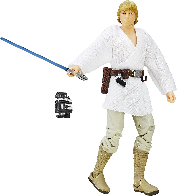 Amazon Com Star Wars A New Hope Black Series 6 Inch Luke Skywalker Toys Games
