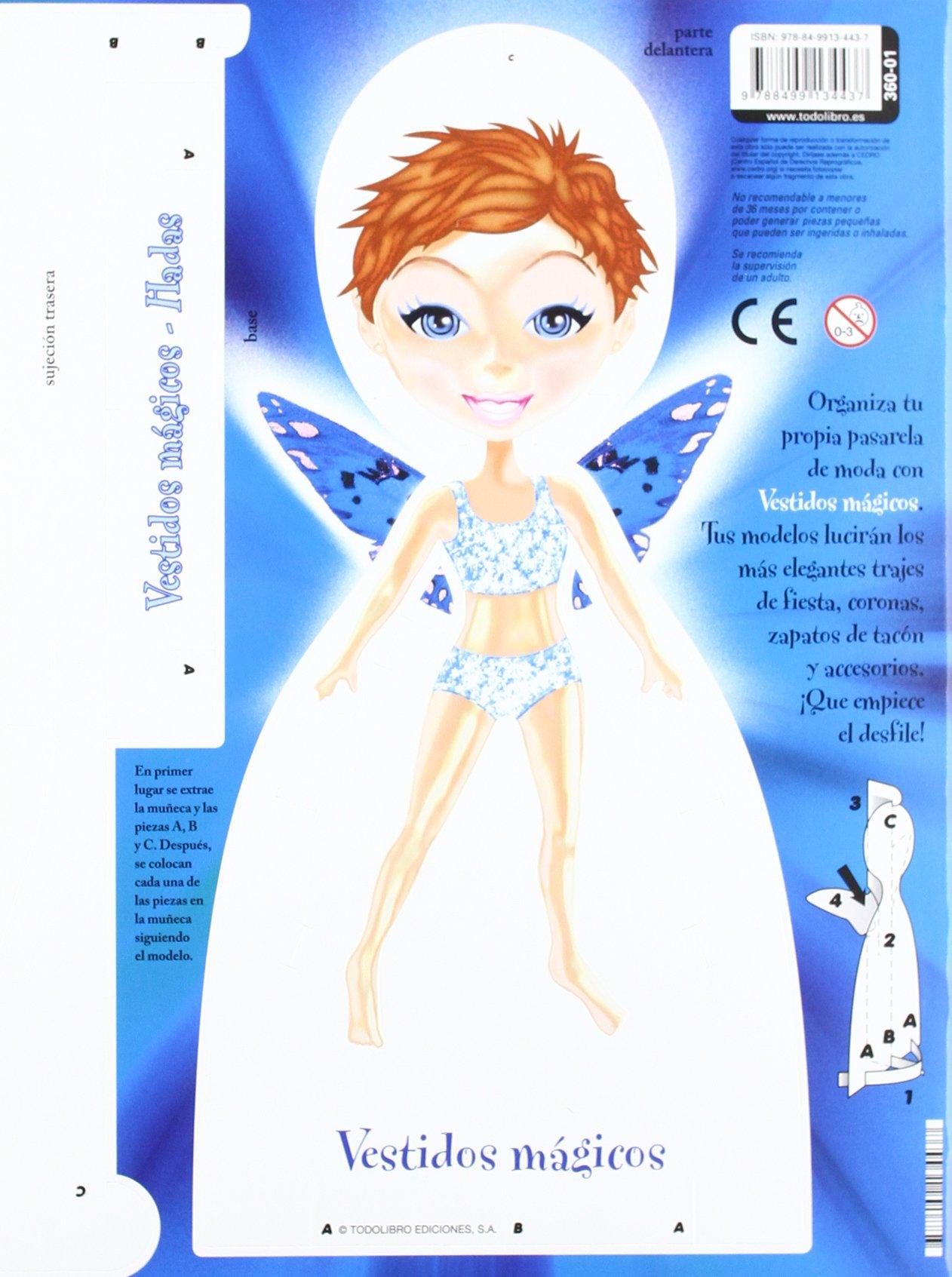 Vestidos mágicos (4 títulos): TODOLIBRO.: 9788499134437: Amazon.com: Books