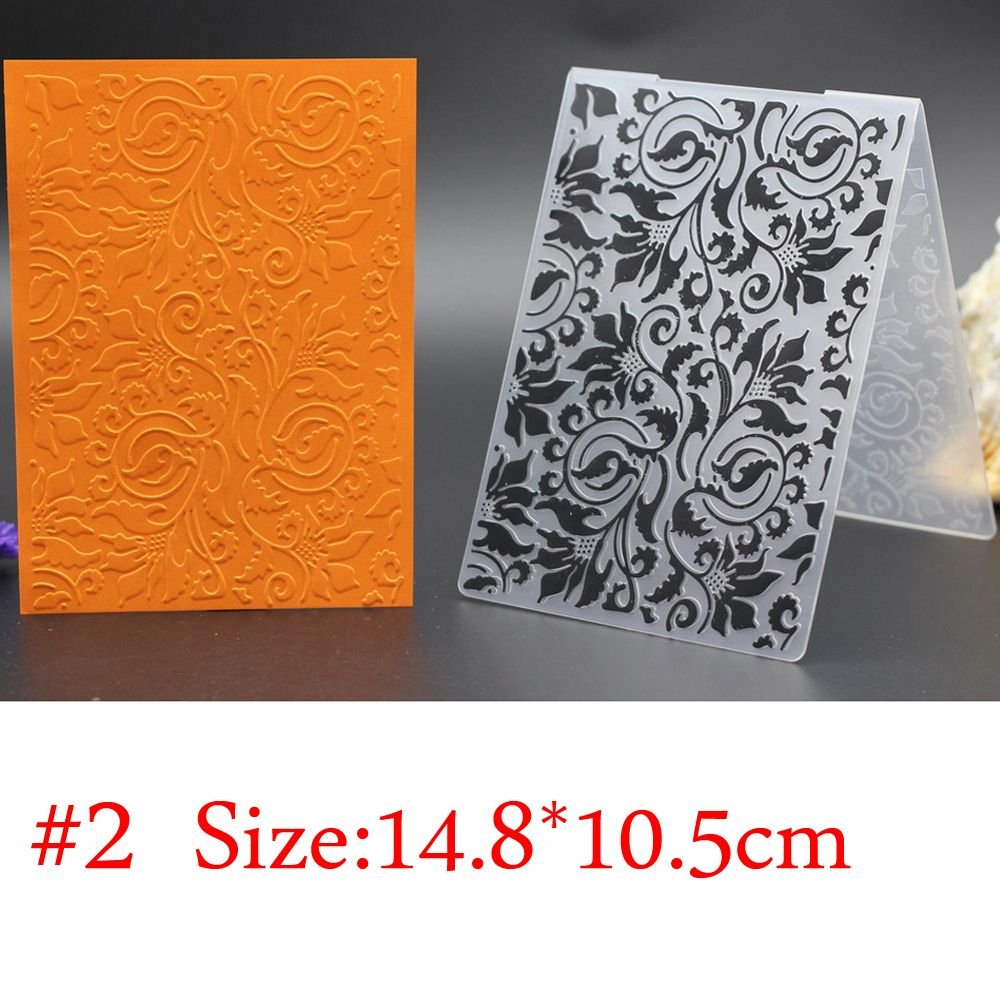 Plastic Embossing Folder DIY Cutting Dies Stencils Template Molds Scrapbook Paper Crafts Cards Decor DIY Mould #14