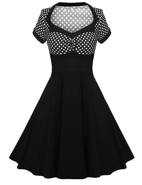 Cocktailkleid schwarz 48