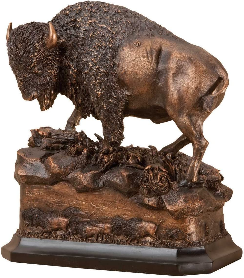 Big Sky Carvers Marc Pierce Buffalo American Icon Sculpture