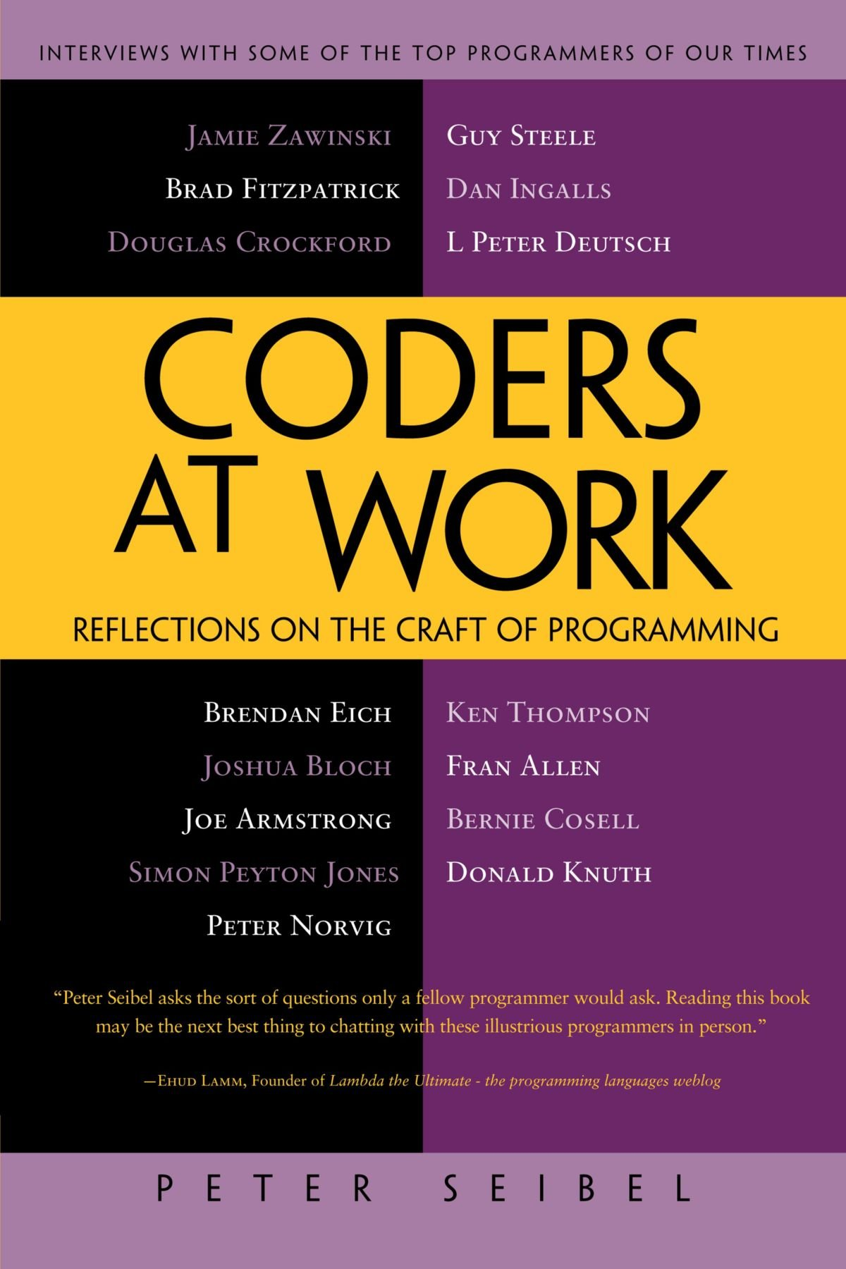 amazonfr coders at work reflections on the craft of programming peter seibel livres