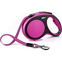 Flexi Comfort Cord Retractable Dog Lead, Pink