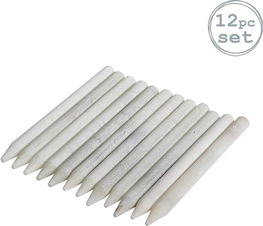 Argon Tableware Lápices de Tiza sin Polvo - Pack de 12: Amazon.es: Hogar