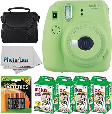 Fujifilm Instax Mini 8 Cámara instantánea película (color verde) + ...