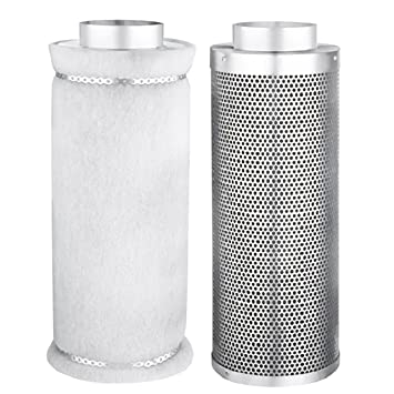Fan and Filter Combo for Hydroponics and Grow Tents Size 32u0026quot; H x 13u0026quot  sc 1 st  Amazon.com & Amazon.com : Fan and Filter Combo for Hydroponics and Grow Tents ...