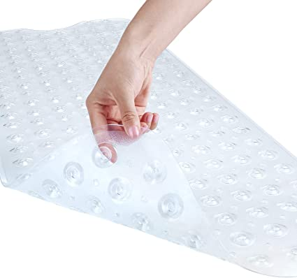 Non-Slip Bath Mat Shower Floor Anti Tub Bathtub Suction Bathroom Safety Rug Grip